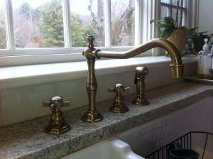 Lake Lillinonah New Sink & Faucet